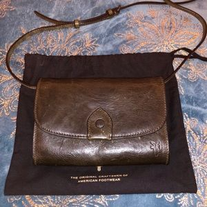 Frye Melissa Crossbody Leather Wallet
